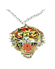 Кулон Тигр-эмаль