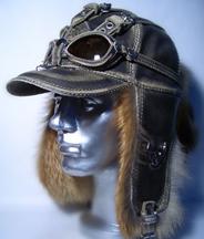 шапка-ушанка с очками Pilot