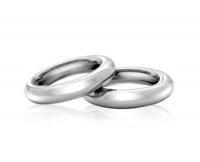 Кольца обручальные парные из стали