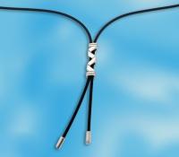 Чокер-галстук (колье) серебро 700106