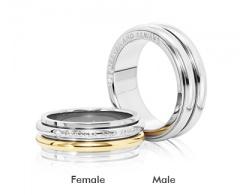 Парные кольца – кольца из стали
