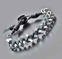Браслет в стиле Chan Luu, из стальных гаек 6 mm Rico La Cara 4147