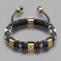 Браслет шамбала c шармами в форме игральных костей Rico La Cara 5199