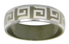 Стильные кольца с лазерной гравировкой – кольца из серебра