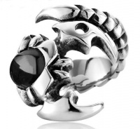 Кольцо из стали Скорпион