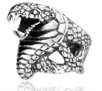 Кольцо из стали Кобра
