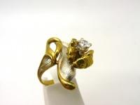 Кольцо серебро Рыбы в.1
