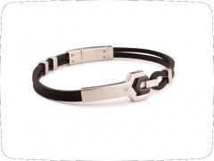 Мужские браслеты Orocreato (cталь, серебро, каучук) всего 35