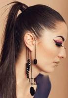 Сережка на ухо