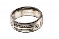 Мужское кольцо из титана RT002