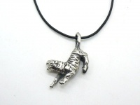 Кулон Тигр серебро