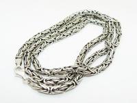 Цепочка из серебра Византия вид 2
