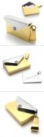 Кулон конверт I love you