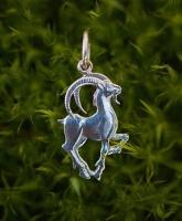Кулон подвеска серебро Коза