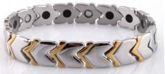 Мужские браслеты титана, керамики с магнитами