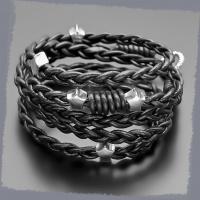 Кожаный плетеный браслет Rico La Cara 3195