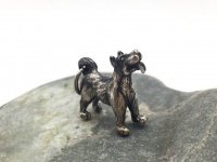 """Кулон-подвеска с собакой """"Дворняжка"""" серебро"""