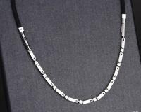 Цепочка из стали и силикона NPB  ION-1500 арт. P069F