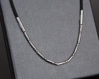 Цепочка из стали и силикона NPB  ION-1500 арт. P069Y