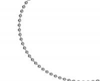Цепочка стальная со звеньями в форме шариков Артикул: INC01
