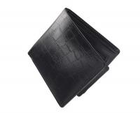 Мужской бумажник с эффектом змеиной кожи