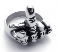 "Мужское кольцо ""средний палец"" RST-02"