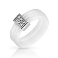 Женское кольцо из керамики SJW RC039