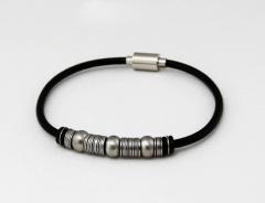 Мужские браслеты из стали серии Rosso Design