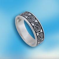 Кольцо  из серебра 1665162