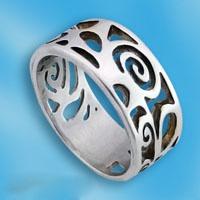 Кольцо  из серебра 1665344
