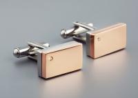 Мужские запонки из стали OROCREATO R145C0015MRSC