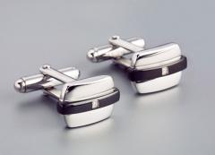 Мужские запонки из стали, серебра OROCREATO