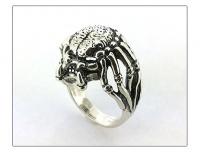"""Кольцо серебро """" Хищник"""""""