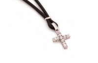 Крест с бриллиантами UGL 358