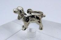 Кулон серебро Спаниель